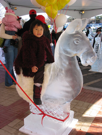 ice pony ride